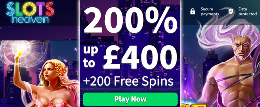 slots heaven casino free spins no deposit