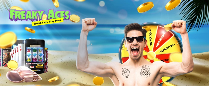 freaky aces casino free spins no deposit